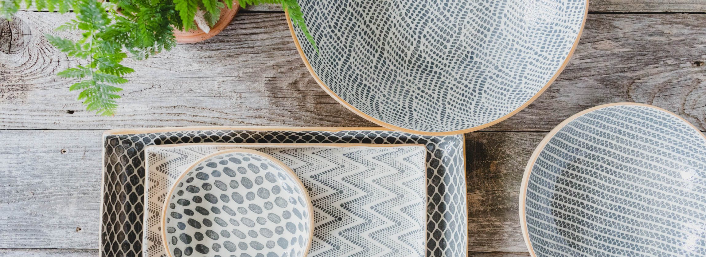 Terrafirma Ceramics Charcoal Bowls and Platters