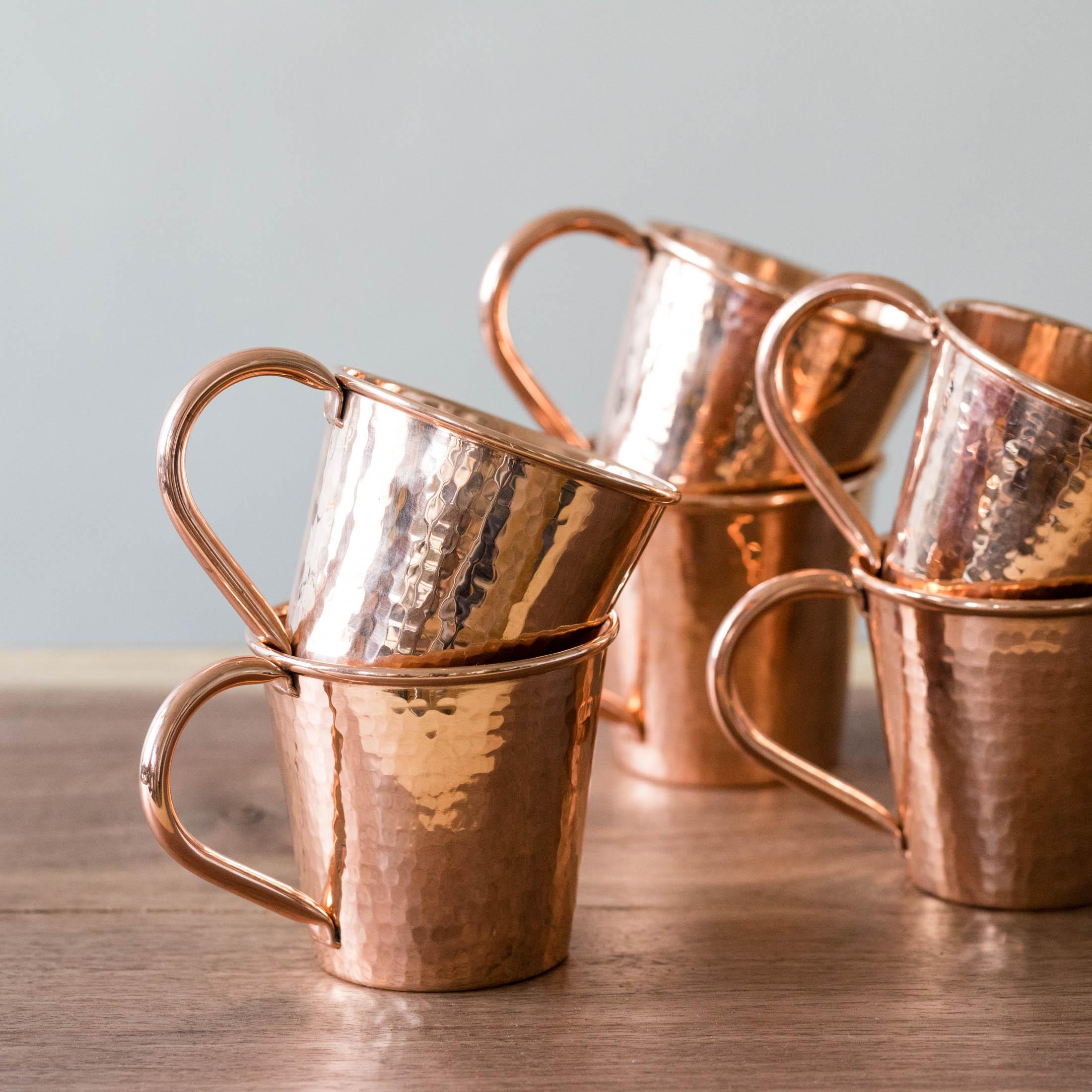 hammered copper mug sertodo