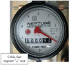"1/2"" Neptune T-10 Meter is offered in cubic feet measurements"
