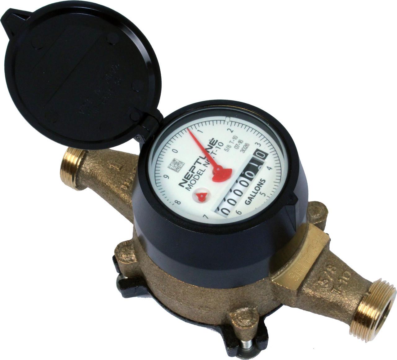 Diagram Of A Water Meter