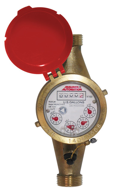 WM-NLCH Series Hot Potable Water Meter 3/4""