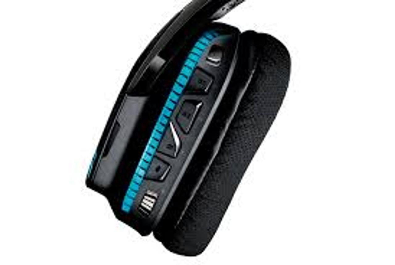 Logitech G933 Black Artemis Spectrum RGB 7.1 Surround Sound Gaming Headset - Refurbished