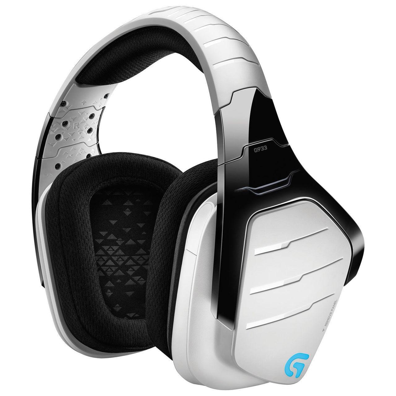 Logitech G933 White Artemis Spectrum RGB 7.1 Surround Sound Gaming Headset - Refurbished