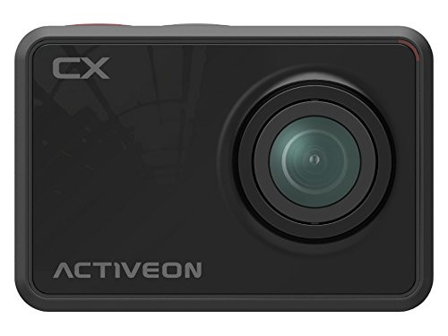 Activeon CX CCA11W 1080p Action Camera w/ 5MP Photo Capture, Wi-Fi 2.0in LCD & Waterproof Housing (Onyx Black)
