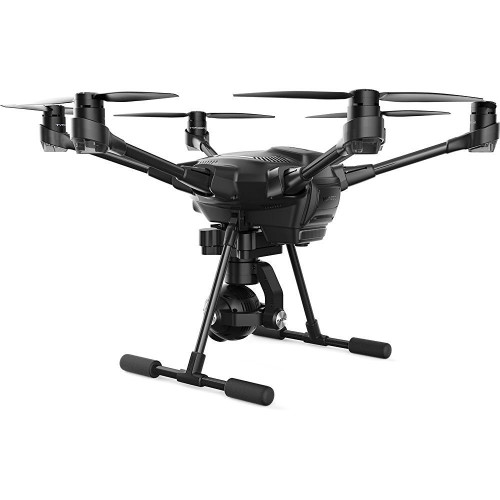 Yuneec YUNTYHBPUS Typhoon H PRO Hexacopter with GCO3+ 4K Camera, Wizard Wand, and Backpack