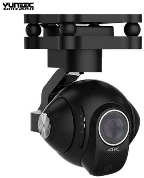 Yuneec YUNCG03US CG03 4K 3-axis Gimbal Camera w/ 5.8GHz Digital Video Downlink US