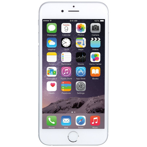 Apple iPhone 6 A1549 16GB Unlocked CDMA / LTE Smart Phone - White / Silver - Refurbished