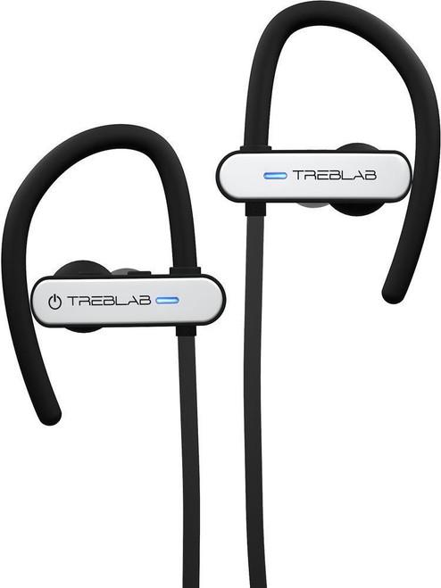 TREBLAB XR800 Bluetooth Headphones - White - (2-Pack Bundle)