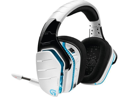 Logitech G933 White Artemis Spectrum RGB 7.1 Surround Sound Gaming Headset - Refurbished