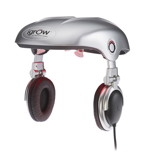 Apira iGrow Hands-Free Laser LED Light Therapy Hair Rejuvenation System - Factory Re-certified