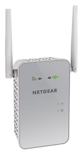 Netgear EX6150-100NAR  AC1200 Dual Band Wi-Fi Range Extender - Black - Certified Refurbished