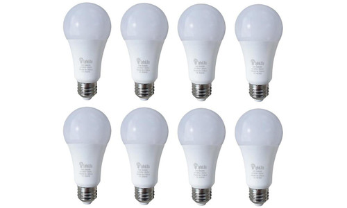 LyfeLite Rechargeable Emergency LED 9W Bulbs (Soft White) - 8 Pack