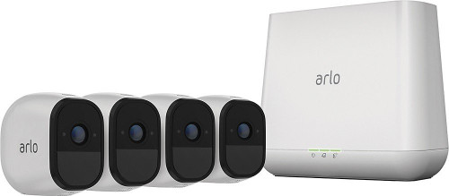 Arlo Pro NetGear VMS4430-100NAR Indoor/Outdoor HD Wire Free Security System with 4 Cameras - Certified Refurbished