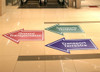 Floor Decals - FloorTalkers Floor Graphic Stickers