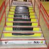 Floor Decals - PathFinders Sidewalk Stickers - Stairs