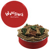 Custom Printed Dog Treat Gift Tins - Red