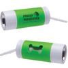 Custom Printed Light Up Waste Bag Dispenser - Green