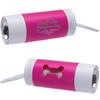 Custom Printed Light Up Waste Bag Dispenser - Pink