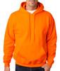 Gildan Custom Printed Hoodies, Pullover Sweatshirt - Safety Orange