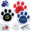 Pet Paw Promotional Magnetic Memo Clips