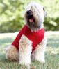 Custom Printed Dog T-Shirts, Doggie Skins Baby Rib Tank - Red