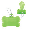 Bone Dog Waste Bag Dispensers, Custom Printed - Lime Green