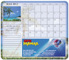 Mouse Pad Calendars with Custom Promotional Imprint