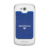 Custom Printed Cell Phone Credit Card Holder with RFID PROtect - Blue