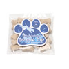 Mini Dog Bone Treats Packet with Custom Paw Shaped Magnet