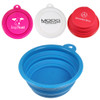 Collapsible Silicone Custom Dog Bowls