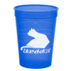Promotional Pet Food Measuring Cups - Translucent Blue