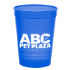 Promotional 16 oz Pet Food Measuring Cups - Translucent Blue