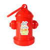 Fire Hydrant Dog Poop Bag Dispensers with Full Color Sticker