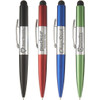 Light Up Logo Disco Pen with Stylus