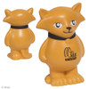Promotional Stress Relievers - Cartoon Cat - Orange