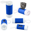 Dog Poop Bag Dispenser Flashlight with Custom Imprint - Reflex Blue