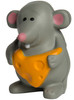 Mouse with Cheese Squeezies Stress Relievers