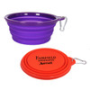 "Promotional 7"" Collapsible Travel Bowl"