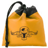 Promotional Drawstring Gift Bag Pouch with Custom Imprint - Orange