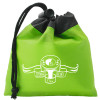 Promotional Drawstring Gift Bag Pouch with Custom Imprint - Lime Green
