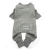 Sweet Dreams Thermal Pajamas - Alloy Gray