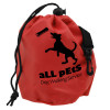 Promotional Dog Training Treat Bags - Red