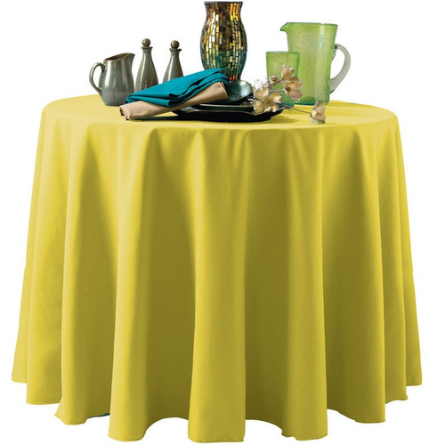 Custom Tablecloths - Non-Printed Polyester Table Covers