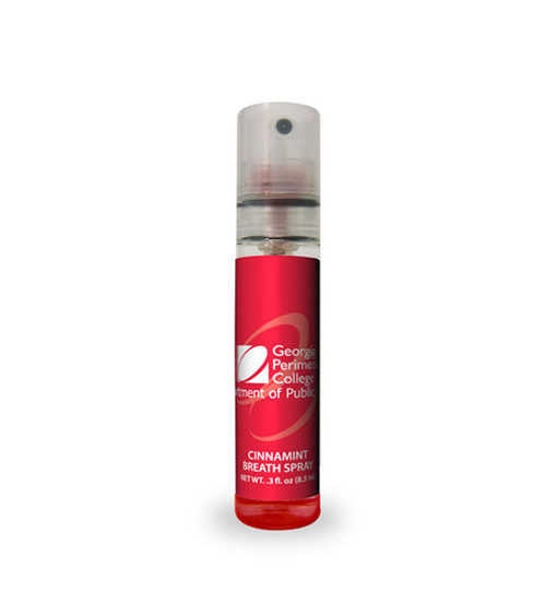 Ice Drops Breath Sprays with Custom Label - Cinnamint