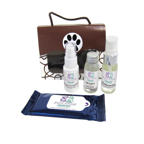 """SPAW"" Kit - Custom Printed Pet Grooming Kits - Open"