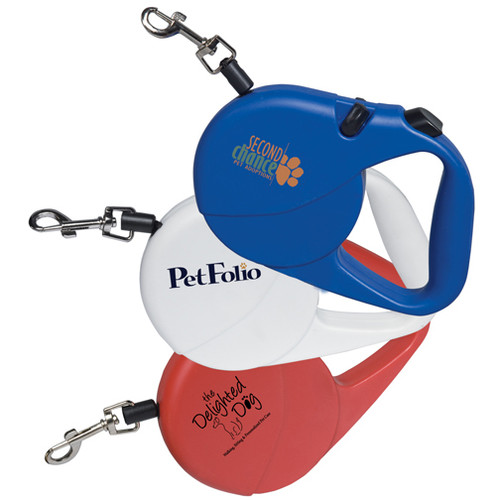 16ft Retractable Pet Leash with Custom Logo