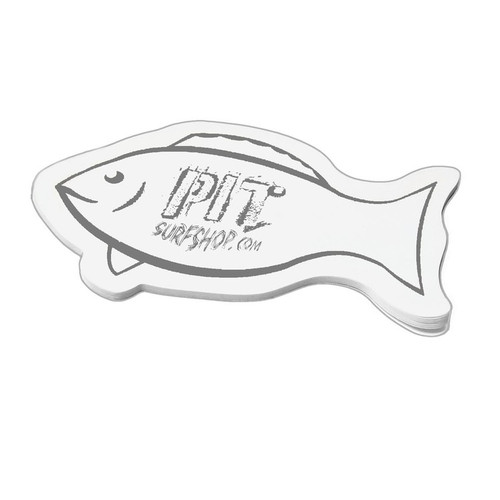 Fish Shaped Post-It Notes for Promotions, 25 Sheets