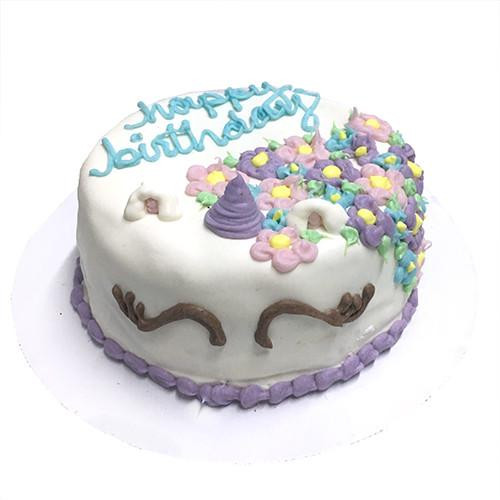 Customized Unicorn Birthday Cakes for Dogs - Organic