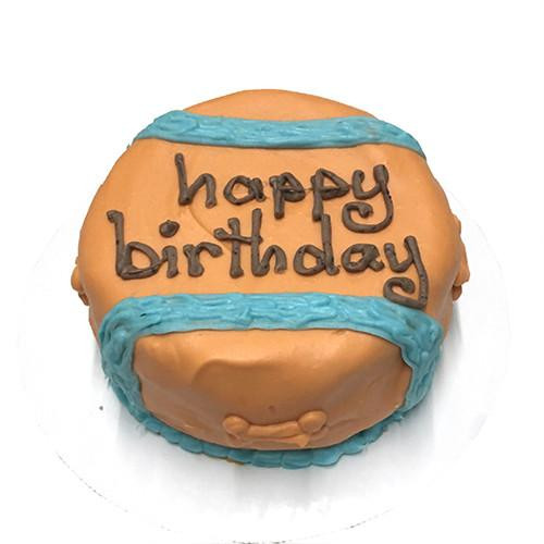 Customized Chuck-It Ball Birthday Cakes for Dogs - Organic