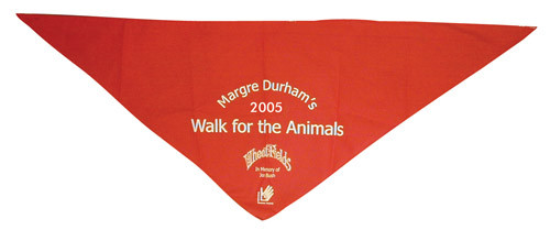 Promotional Dog Triangle Bandanas